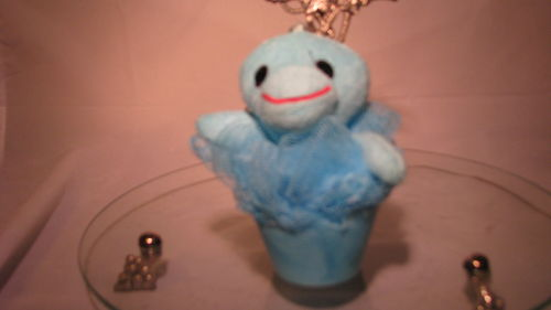 Zoo Friend Scrubbies Light Blue Dolphin Scent Pineapple