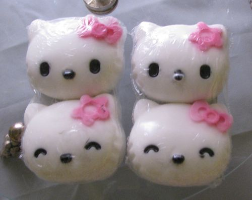 Hello Kitty Duo Guest Soaps Honey Dew Melon Scented